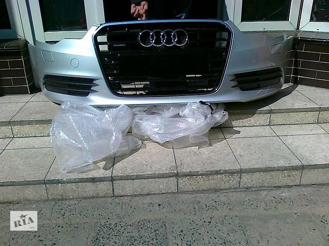 бу б/у Детали кузова Бампер передний Audi A6 в Одессе