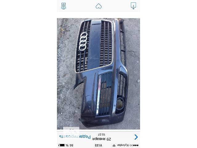 продам б/у Детали кузова Бампер передний Легковой Audi Q7 2008 бу в Ковеле