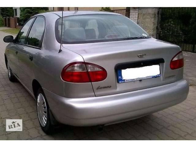 купить бу б/у Детали кузова Бампер задний Легковой Daewoo Lanos 2002 в Львове