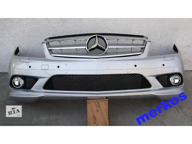 бу б/у Детали кузова Бампер передний Легковой Mercedes C-Class w204 AMG в Киеве