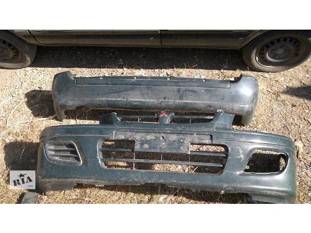 купить бу б/у Детали кузова Бампер передний Легковой Mitsubishi Space Star Минивен 2001 в Днепре (Днепропетровск)