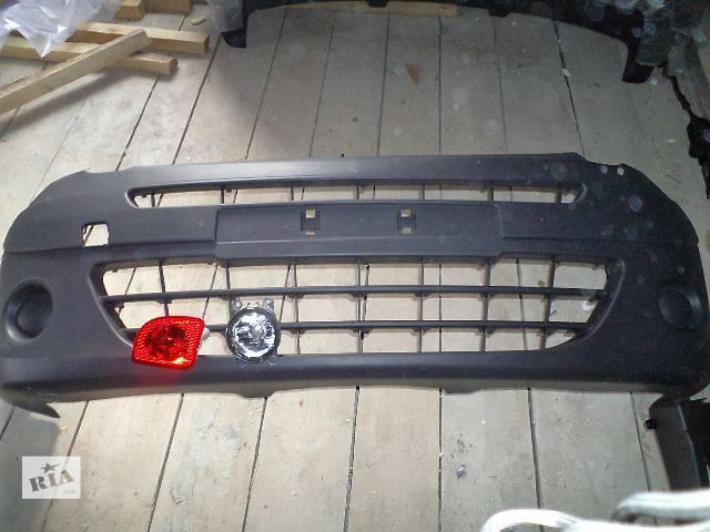купить бу Б/у Детали кузова Бампер передний Легковой Renault Kangoo пасс. 2010 в Дубно (Ровенской обл.)
