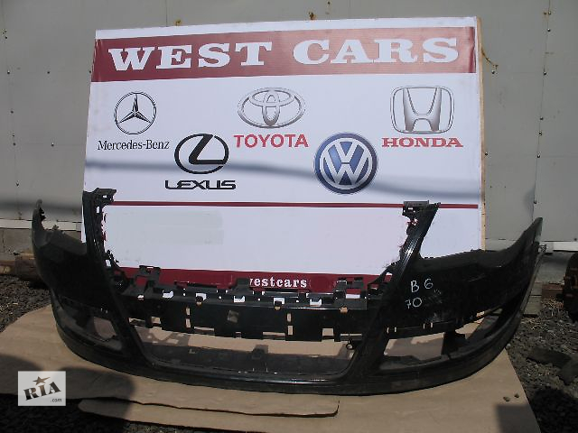 купить бу б/у Детали кузова Бампер передний Легковой Volkswagen Passat 2006 в Луцке