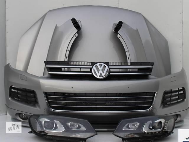 купить бу б/у Детали кузова Бампер передний Легковой Volkswagen Touareg 2012 в Киеве