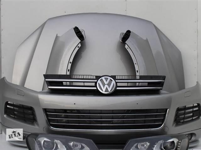 купить бу б/у Детали кузова Бампер передний Легковой Volkswagen Touareg 2013 в Киеве