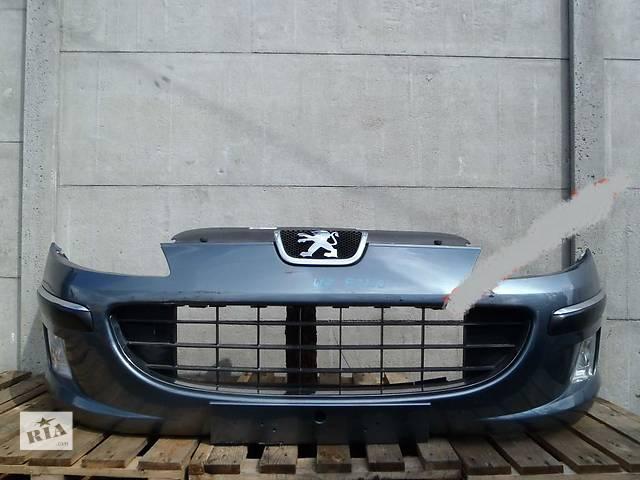 бу б/у Детали кузова Бампер передний Peugeot 407 в Одессе