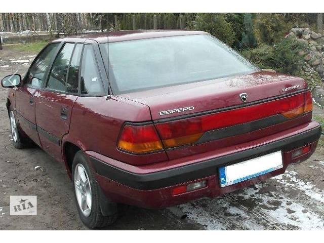 бу б/у Детали кузова Бампер задний Легковой Daewoo Espero 1995 в Львове