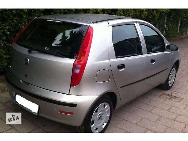 б/у Детали кузова Бампер задний Легковой Fiat Punto 2006- объявление о продаже  в Львове