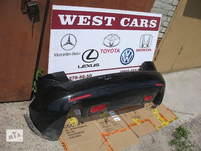 б/у Детали кузова Бампер задний Легковой Mazda CX-7- объявление о продаже  в Луцке