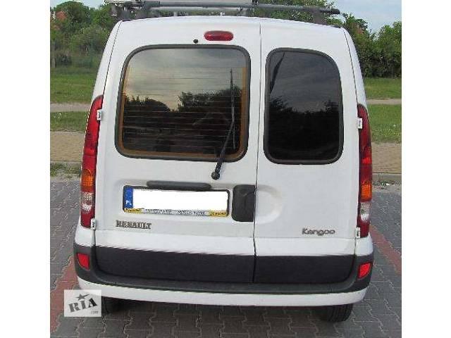 купить бу б/у Детали кузова Бампер задний Легковой Renault Kangoo 2004 в Львове