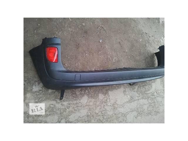 б/у Детали кузова Бампер задний Легковой Renault Kangoo груз.- объявление о продаже  в Львове