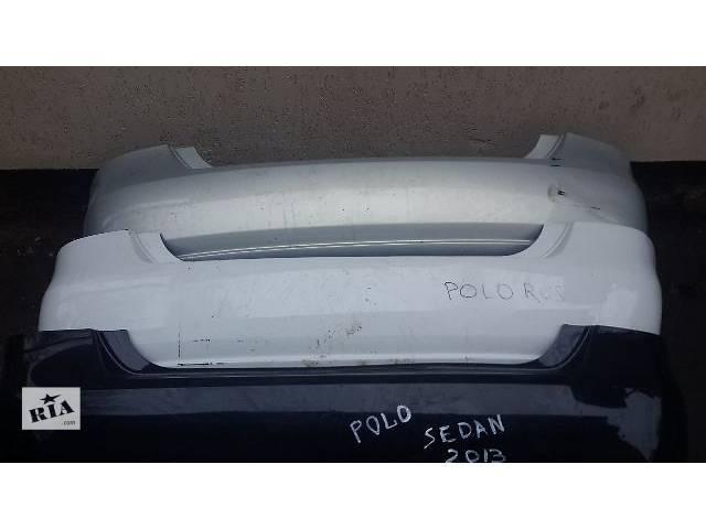 продам б/у Детали кузова Бампер задний Легковой Седан Volkswagen Polo 2012 бу в Полтаве