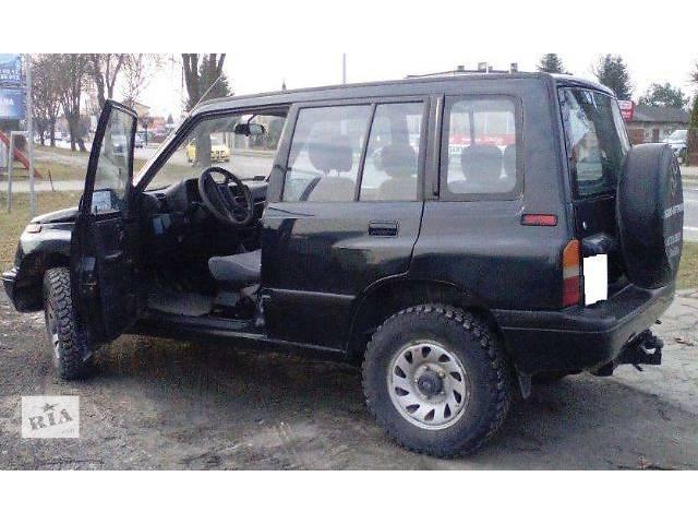 б/у Детали кузова Бампер задний Легковой Suzuki Vitara 1995- объявление о продаже  в Львове