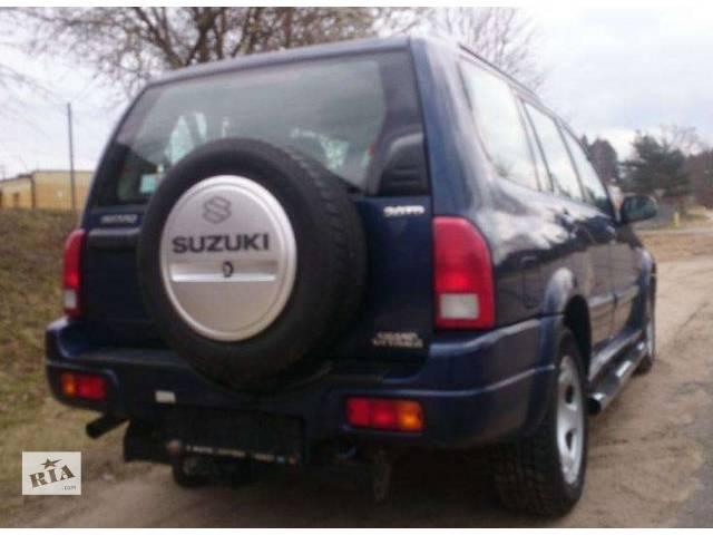 б/у Детали кузова Бампер задний Легковой Suzuki XL7 2003- объявление о продаже  в Львове