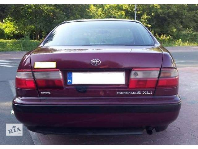 б/у Детали кузова Бампер задний Легковой Toyota Carina E 1996- объявление о продаже  в Львове