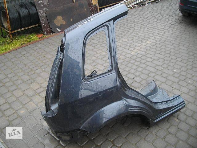 бу б/у Детали кузова Четверть автомобиля Легковой Ford Fiesta 2007 в Львове