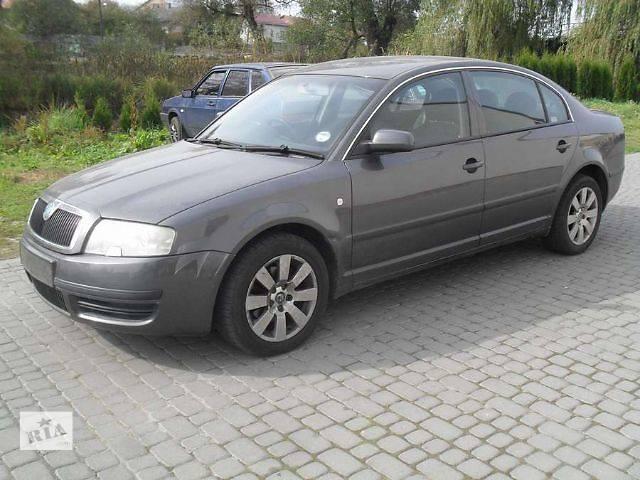 купить бу Б/у дверь передняя для седана Skoda SuperB в Львове
