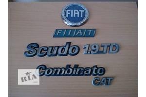 б/у Эмблема Fiat Scudo