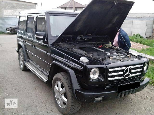 бу Б/у Детали кузова Эмблема Легковой Mercedes G-Class 2002 в Львове