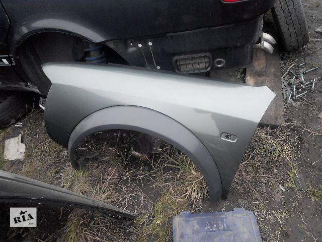 продам Б/у Детали кузова Крыло переднее Легковой Audi A6 Allroad бу в Львове
