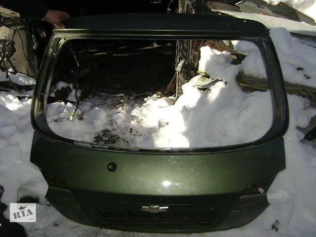 бу б/у Детали кузова крышка багажника Легковой Chevrolet Lacetti Hatchback Хэтчбек 2008 в Киеве