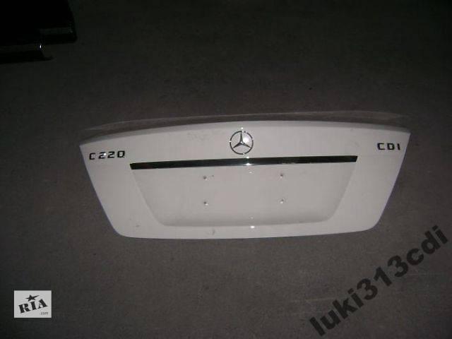 б/у Детали кузова Крышка багажника Легковой Mercedes C-Class w204- объявление о продаже  в Киеве