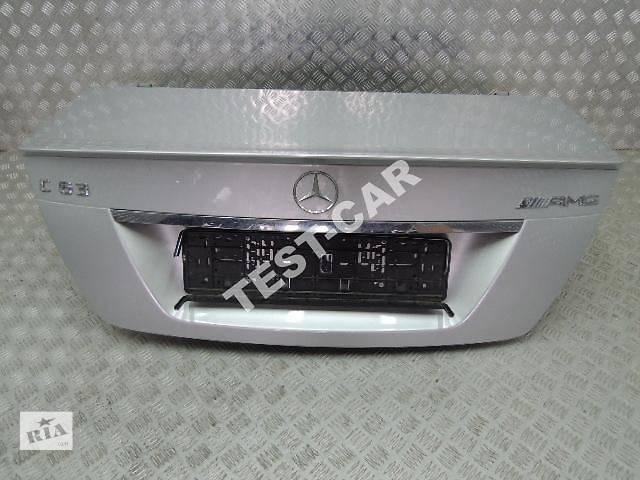 продам б/у Детали кузова Крышка багажника Легковой Mercedes C-Class w204 AMG бу в Киеве