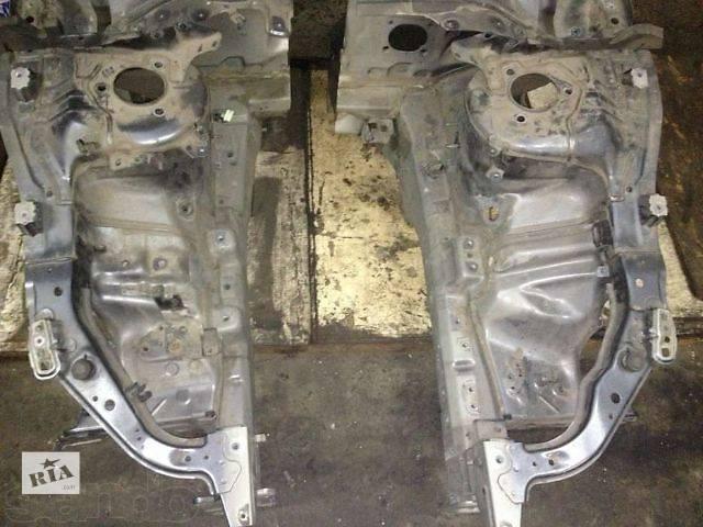 купить бу б/у Детали кузова Лонжерон Легковой Mitsubishi Lancer X 2008 в Киеве
