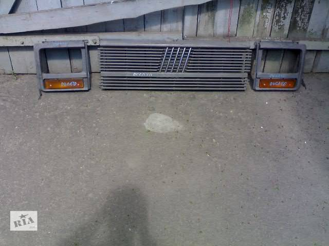 бу Б/у Детали кузова Решётка радиатора Легковой Fiat Ducato в Сумах