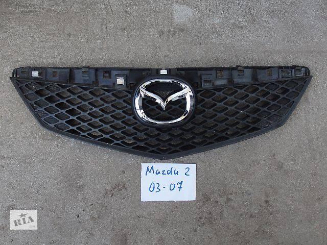 продам Б/у решетка радиатора для легкового авто Mazda 2 В НАЛИЧИИ!!!! бу в Львове