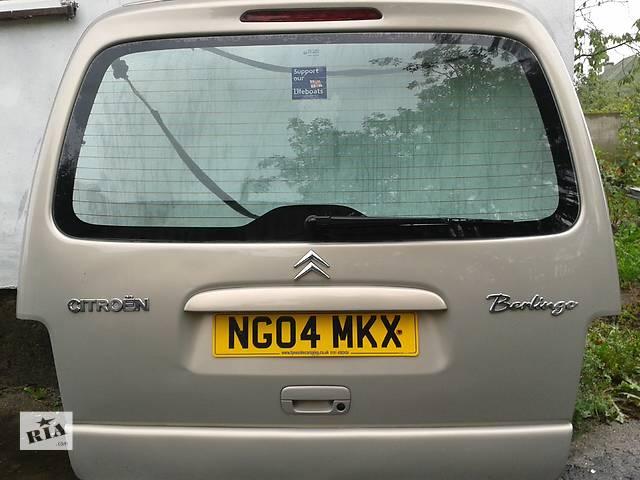 купить бу Б/у Детали кузова Стекло в кузов Легковой Citroen Berlingo пасс. 2004 в Ковеле