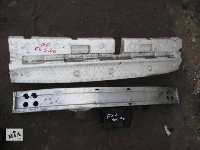 бу б/у Детали кузова Усилитель заднего/переднего бампера Легковой Infiniti FX 2010 в Ковеле