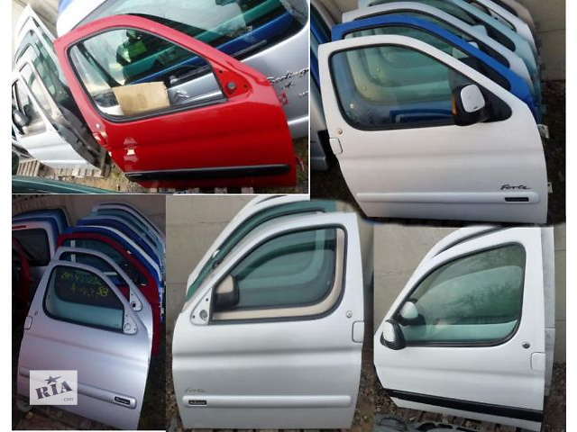 продам Б/у дверь передняя для легкового авто Peugeot Partner 1997-2014гв бу в Одессе