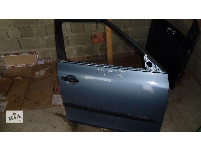 купить бу Б/у дверь передняя для легкового авто Skoda Fabia 2008 в Коломые