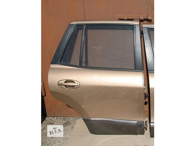 купить бу Б/у дверь задняя для легкового авто Hyundai Santa FE 2003 в Луцке