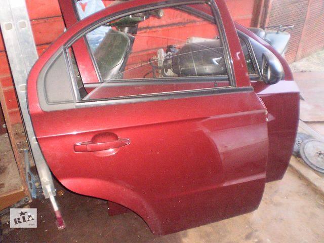 бу б/у Двери/багажник и компоненты Дверь передняя Легковой Chevrolet Aveo Седан 2013 в Киеве
