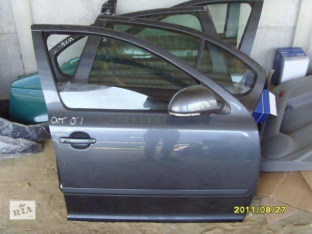 купить бу б/у Двери/багажник и компоненты Дверь передняя Легковой Skoda Octavia A5 Седан в Полтаве