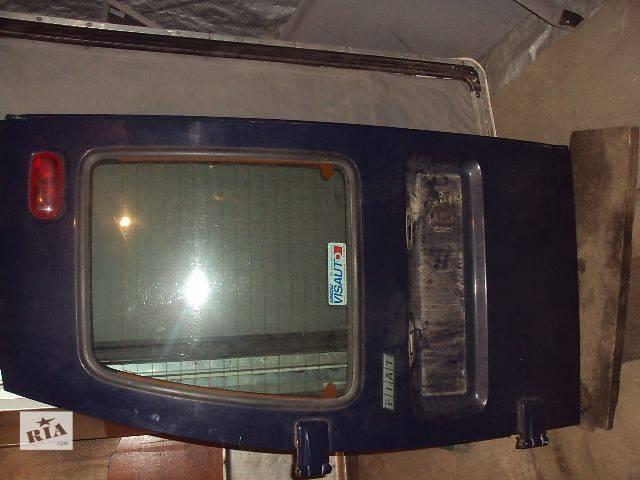 б/у Двери/багажник и компоненты Дверь задняя Легковой Fiat Scudo Пассажирский Минивен 2001- объявление о продаже  в Львове