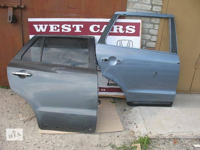 купить бу б/у Двери/багажник и компоненты Дверь задняя Легковой Hyundai Santa FE 2007 в Луцке
