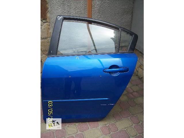 продам Б/у Двери/багажник и компоненты Дверь задняя Легковой Mazda 3 Sedan бу в Жовкве