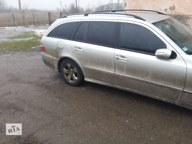 купить бу б/у Двери/багажник и компоненты Дверь задняя Легковой Mercedes E-Class в Львове