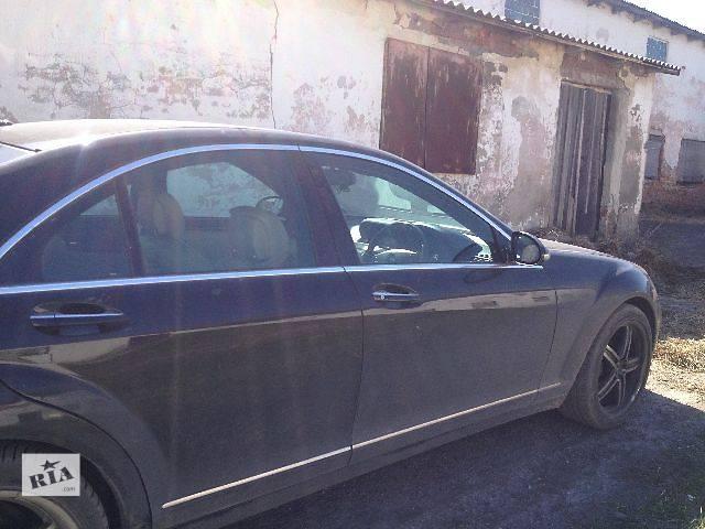купить бу Б/у Двери/багажник и компоненты Дверь задняя Легковой Mercedes S-Class 2008 в Львове