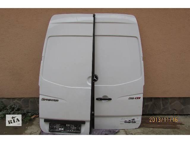продам б/у Двери/багажник и компоненты Дверь задняя Легковой Mercedes Sprinter 2008 бу в Хусте