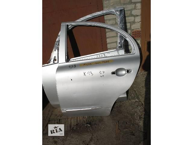 купить бу б/у Двери/багажник и компоненты Дверь задняя Легковой Nissan Micra Hatchback (5d) 2010 в Луцке