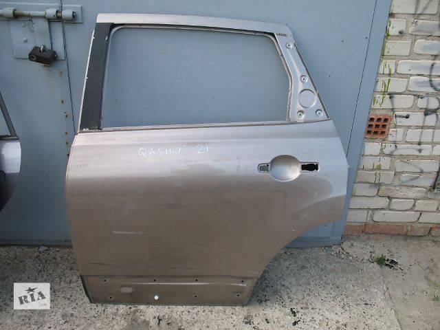 купить бу б/у Двери/багажник и компоненты Дверь задняя Легковой Nissan Qashqai+2 в Луцке