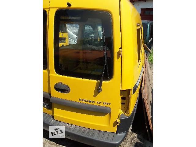 купить бу б/у Двери/багажник и компоненты Дверь задняя Легковой Opel Combo Пикап 2003 в Ковеле