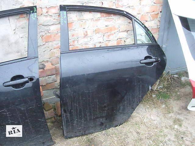 продам б/у Двери/багажник и компоненты Дверь задняя Легковой Toyota Corolla 2008 бу в Киеве