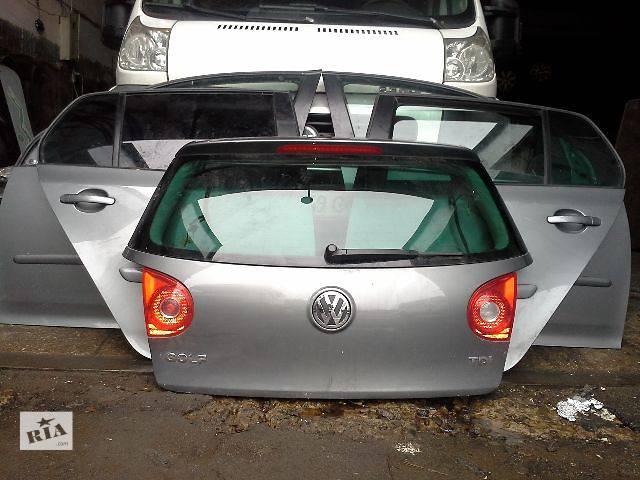 б/у Двері/багажник і компоненти Двері задня Легковий Volkswagen Golf V Хетчбек 2008- объявление о продаже  в Львові
