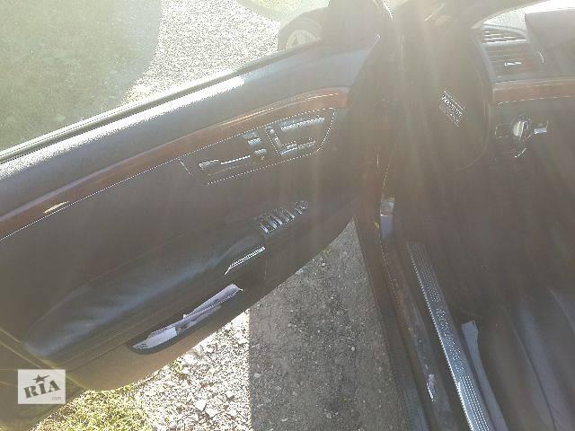 бу Б/у Двери/багажник и компоненты Карта двери Легковой Mercedes S-Class 2008 в Львове