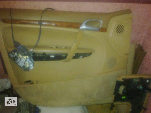 бу Б/у Двери/багажник и компоненты Карта двери Легковой Porsche Cayenne Кроссовер 2004 в Харькове